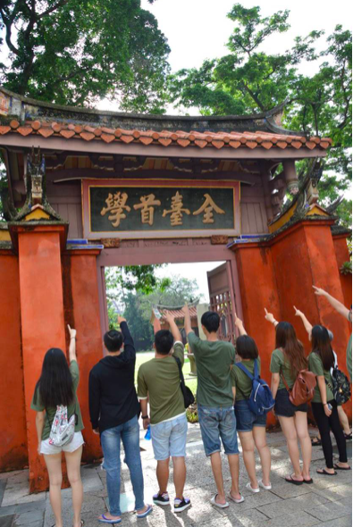 Bezoek aan de Confuciustempel voor een goed cijfer, Taiwan (foto: Gwendolyn Tates)