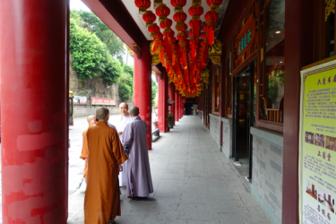 Nonnen in Xiamen (foto: Ardi Bouwers)