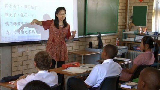 chinese school in zuid afrika