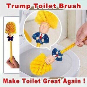trump toiletborstel